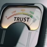 Leading from the front in the age of mistrust